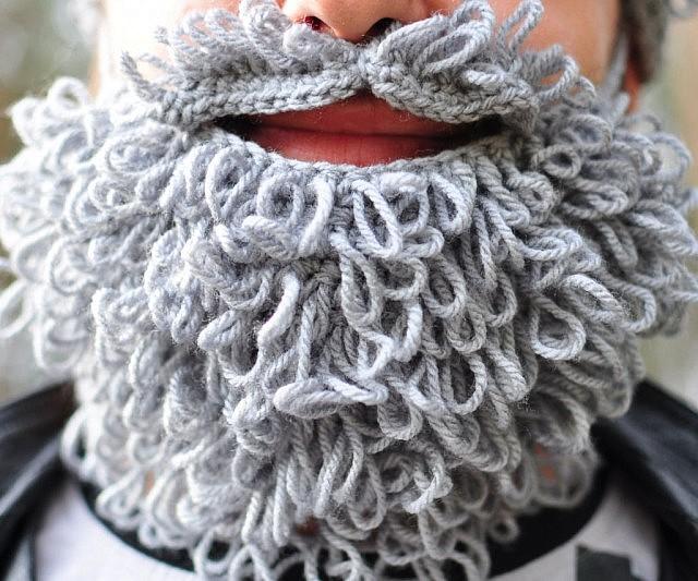 Crochet Beard And Mustache