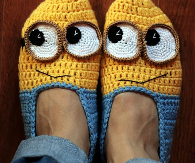 Free Crochet Pattern For Baby Minion Slippers : Picture association - Games - English - The Free ...