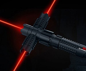 Crossguard Laser Pointer