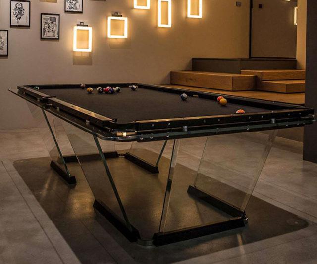 T1 Crystal Pool Table