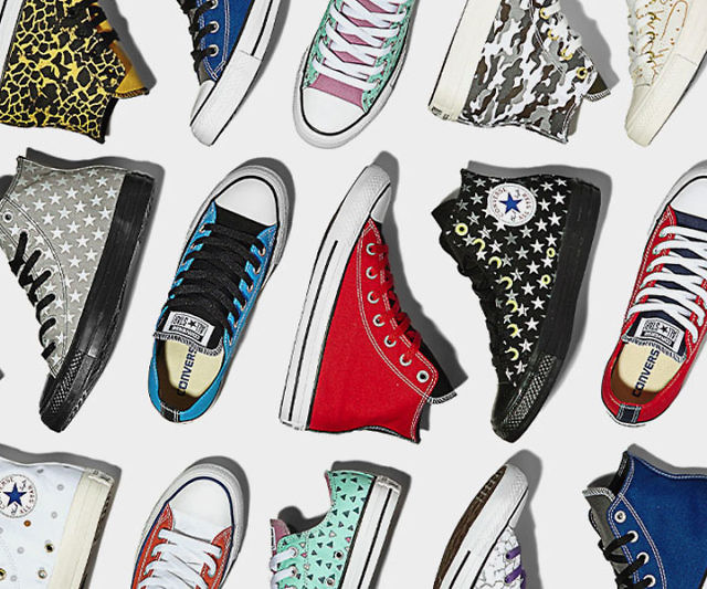 A merced de donde quiera honor  Customizable Converse All Stars