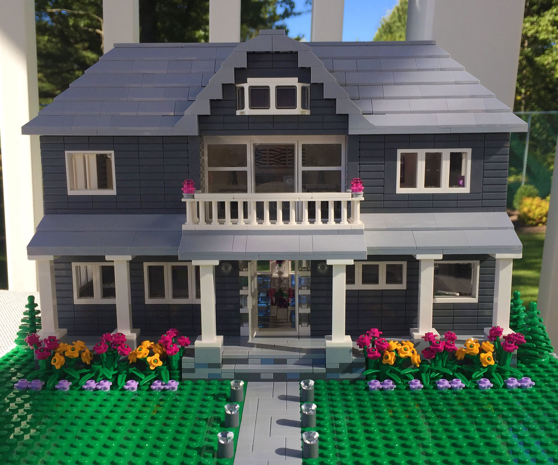 Custom LEGO Model Of Your Home