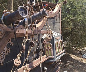 Custom Pirate Ship Playhouse