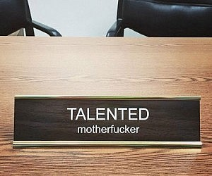 Great Customized Office Name Plates