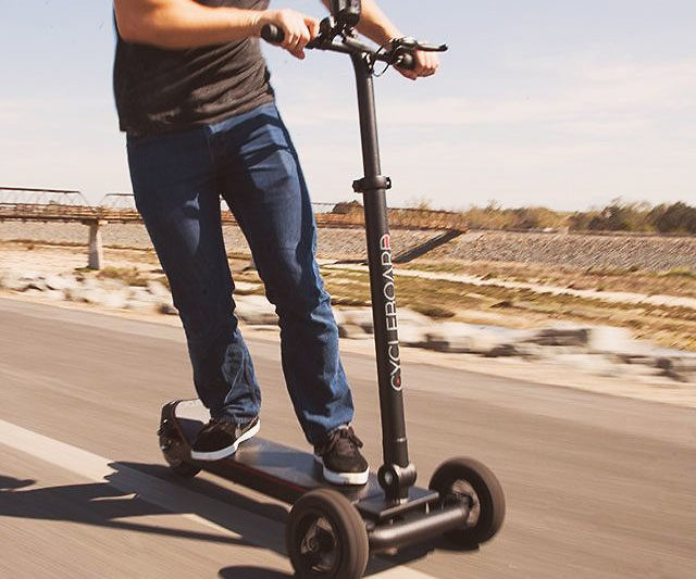 Stand Up Electric Scooter >> Cycleboard Standup Electric Scooter