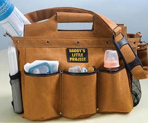 Manly Diaper Bag