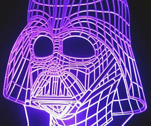 Darth Vader Color Changing...