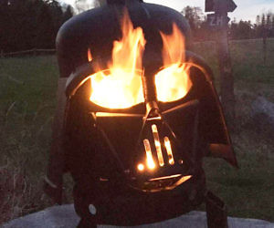 darth vader grill firepit buzzfeed. Black Bedroom Furniture Sets. Home Design Ideas
