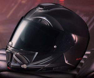 Darth Vader Motorcycle Hel...
