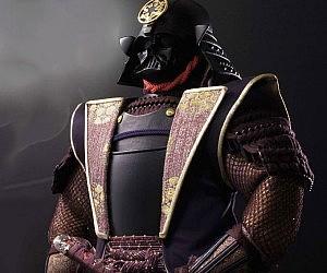 Darth Vader Samurai Doll