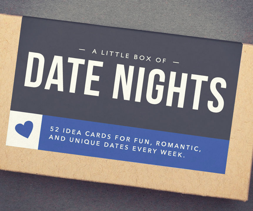 Date Night Cards Box