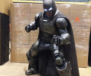 3D Printed Armored Batman Suit & Venom Muscle Suit Costume