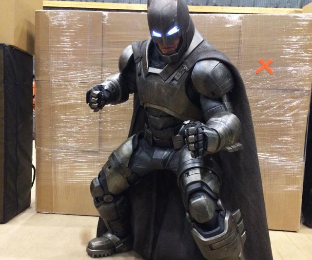 Batman Suit: 3D Printed Armored Batman Suit
