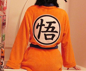 Dragon Ball Z Goku Bathrobe