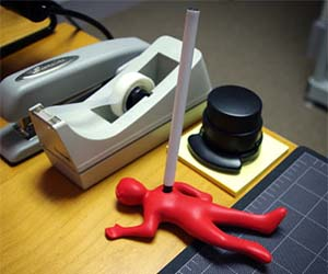 Dead Guy Pen Holder