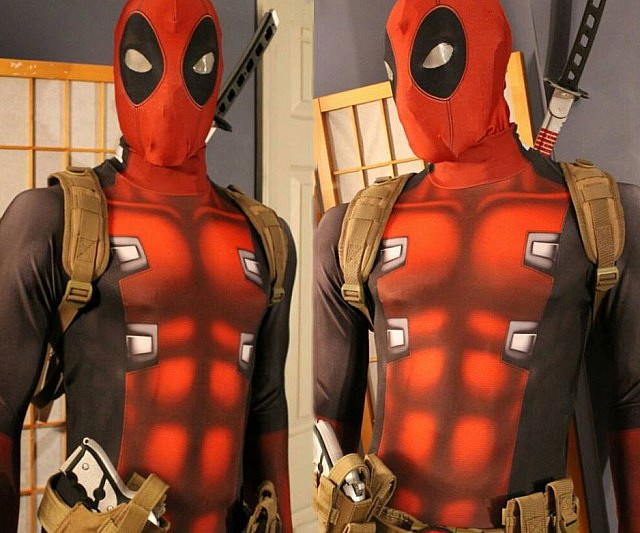 Deadpool cosplay morphsuit solutioingenieria