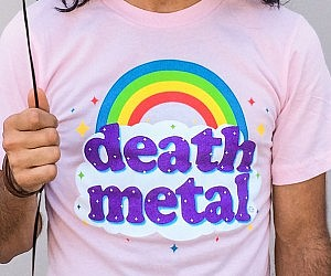 Death Metal Rainbow Shirt