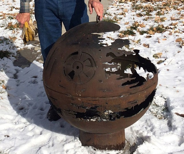 Exceptional Star Wars Death Star Fire Pit Part - 13: Star Wars Death Star Fire Pit