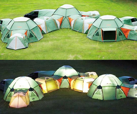 Infinitely Modular Tent & Modular Tent