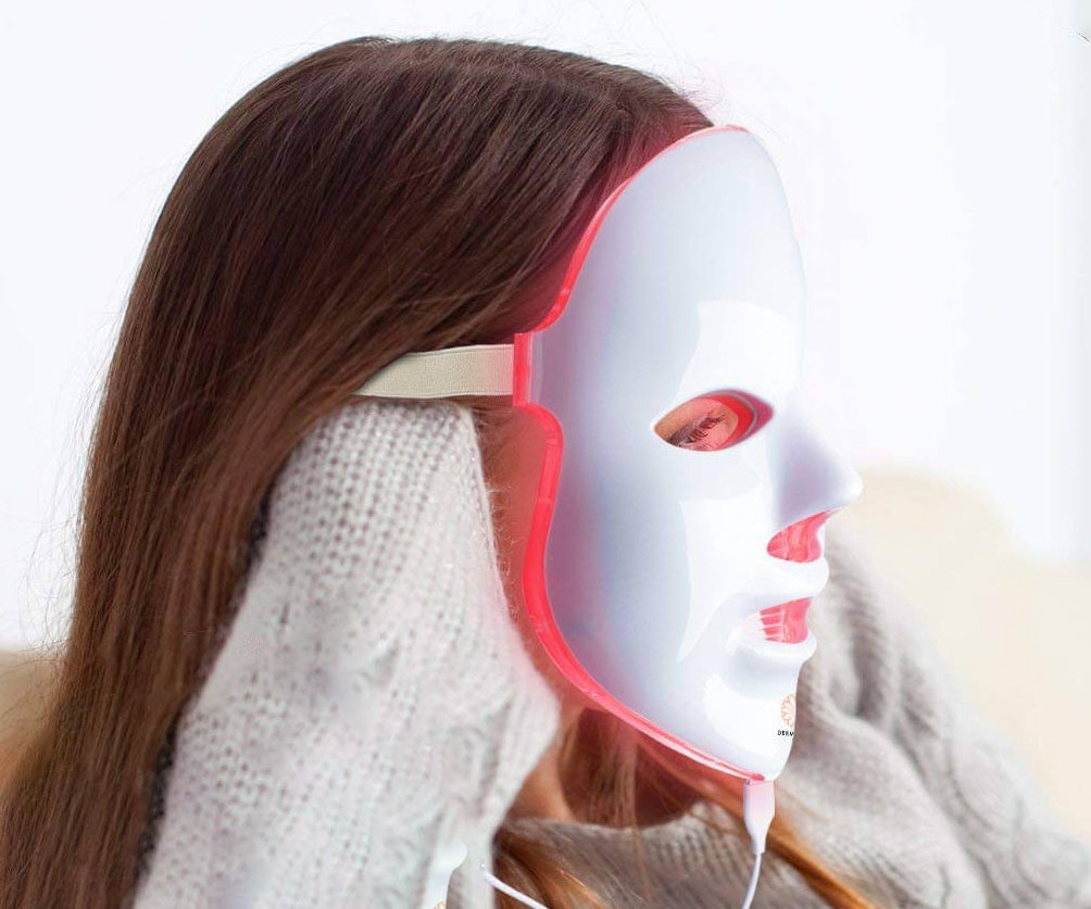 Light Therapy Face Rejuvanation Mask - coolthings.us