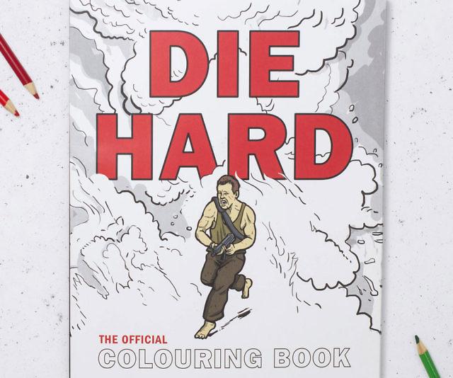Die Hard Coloring Book