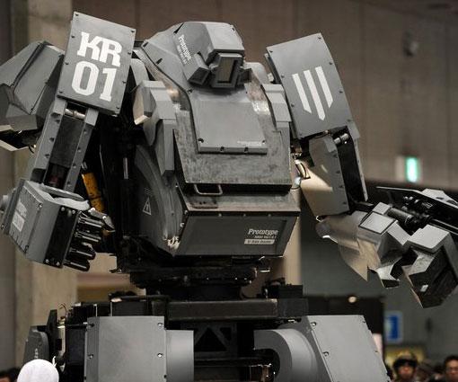 Diesel Powered MechWarrior
