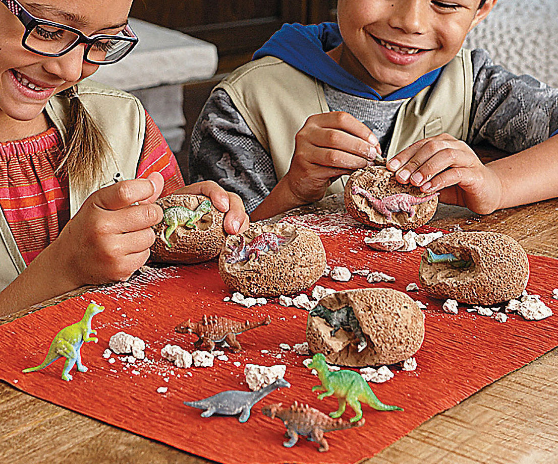 Dig It Up Dinosaur Eggs - coolthings.us