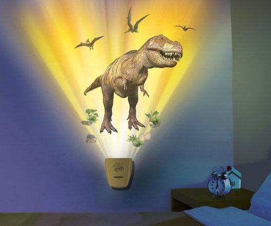 Dinosaur Projecting Wall Lamp