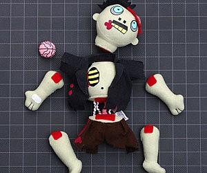 Dismembering Limbs Plush Zombie
