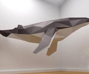 DIY Giant 3D Papercraft Whale