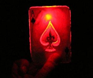 DIY Gambit Glowing Card