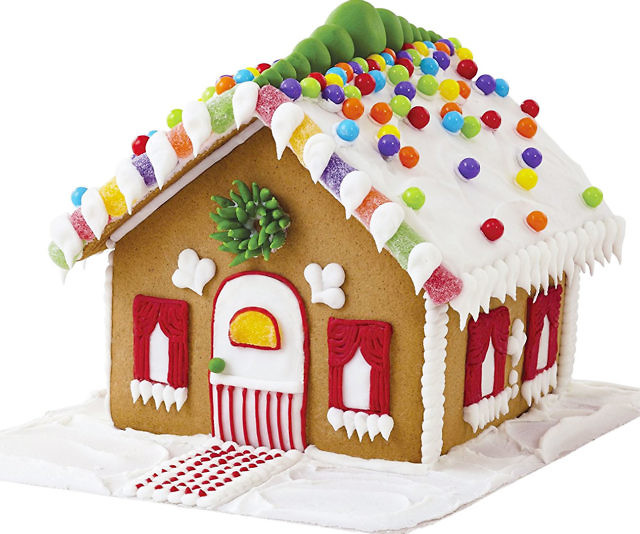 Diy gingerbread house kit solutioingenieria Image collections