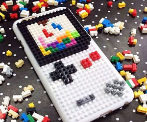 DIY Bricks iPhone Case