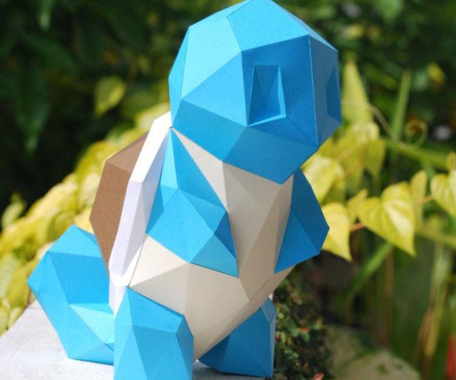 Diy Papercraft Pokemon