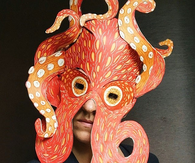 Diy Cardboard Masks: DIY Animal Paper Masks
