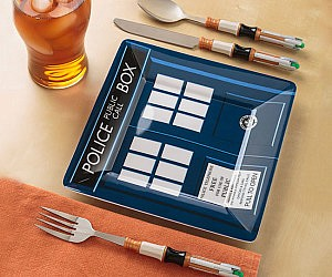 Doctor Who Cutlery Set