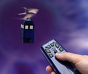 Doctor Who Flying R/C TARDIS