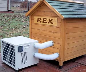 Dog House Air Conditioning Unit