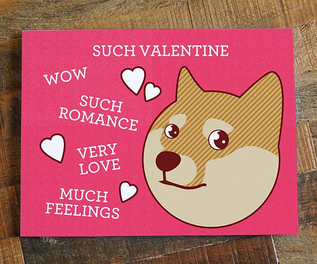 Doge Valentine S Day Card