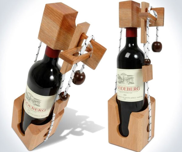 Wine Bottle Puzzle
