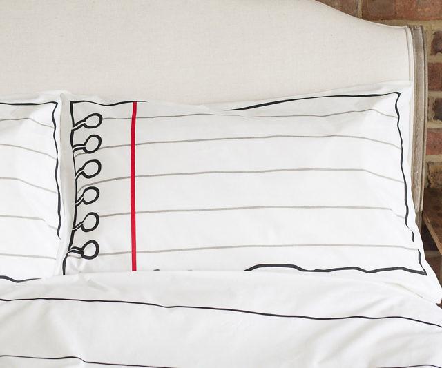 Fresh Doodle Pillowcase Set