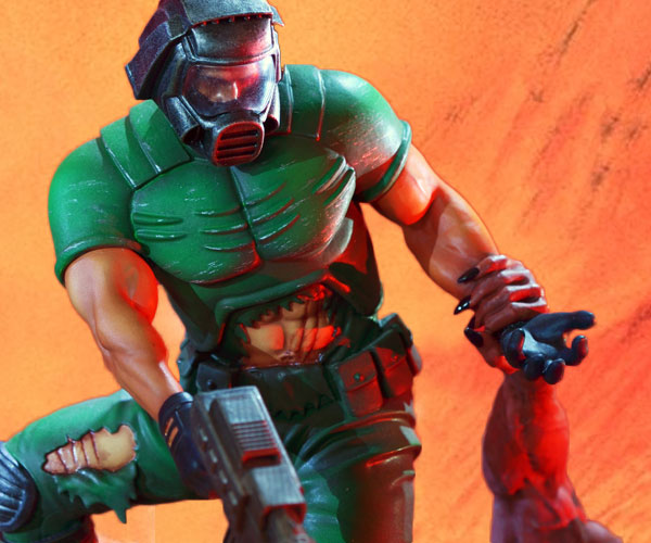 Lego Figures Toys : Doom action figure