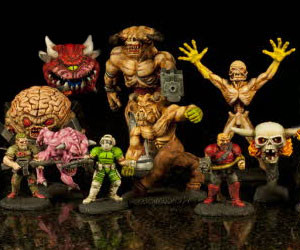 DOOM Mini Action Figures