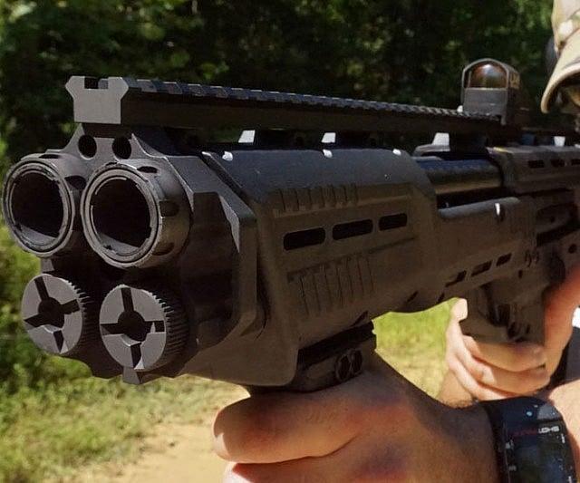 DP-12 Double Barrel Pump Shotgun