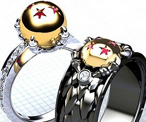 His & Her Wedding Bands