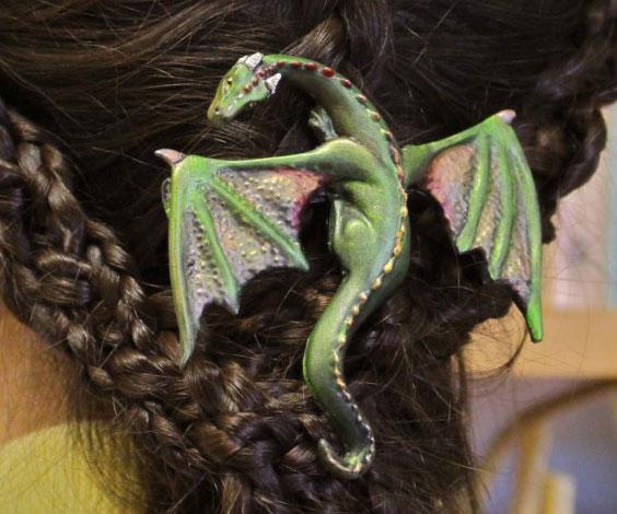 Dragon Hairclip