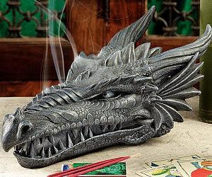 Dragon Skull Incense Burner