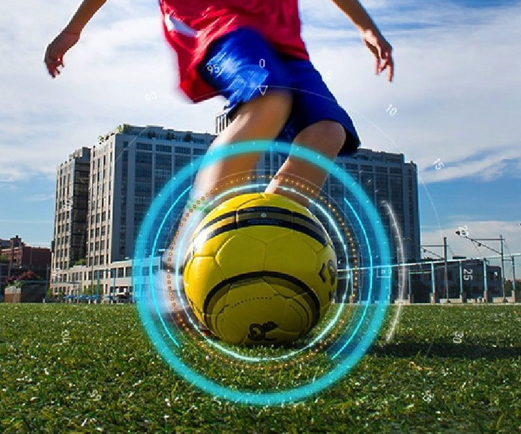 DribbleUp Smart Soccer Ball - coolthings.us