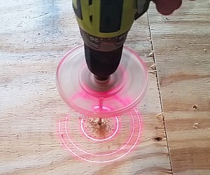 Laser Drill Guide