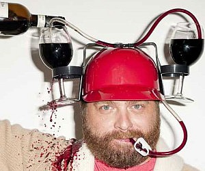 Drink Straw Helmet